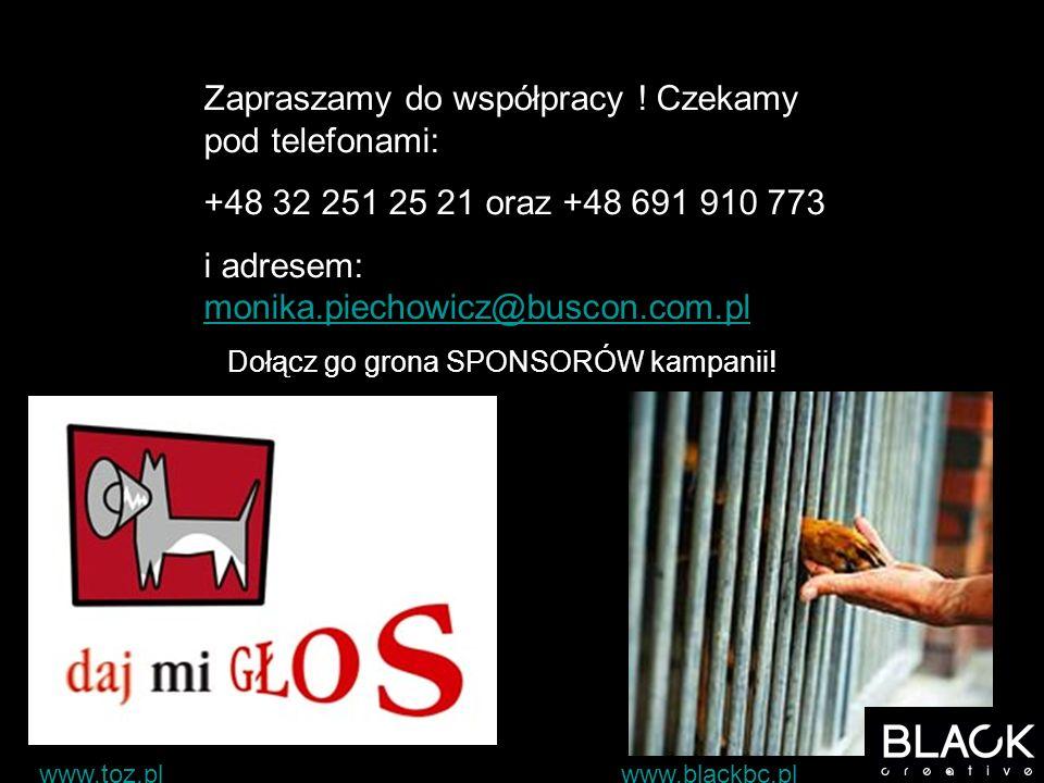 Zapraszamy do współpracy ! Czekamy pod telefonami: +48 32 251 25 21 oraz +48 691 910 773 i adresem: monika.piechowicz@buscon.com.pl monika.piechowicz@