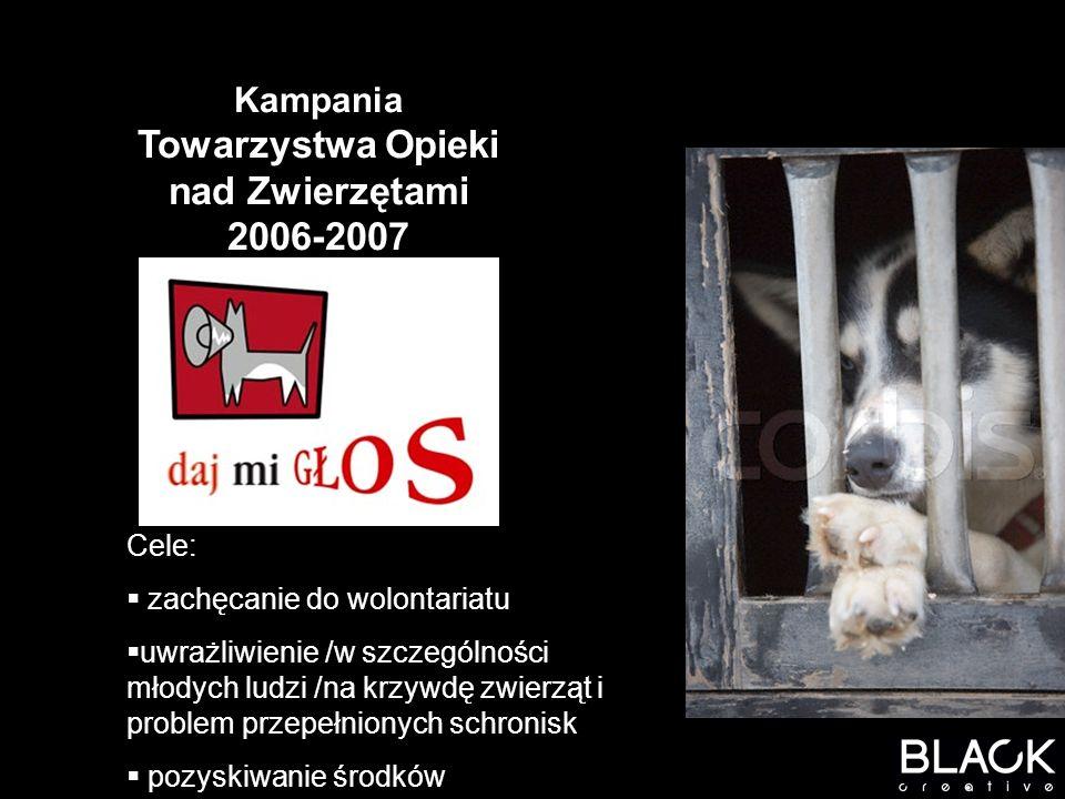 POPRZEDNIE KAMPANIE DLA TOZ: Kampania SKAZANI 2000 r – nagroda EFFIE 2001 r.