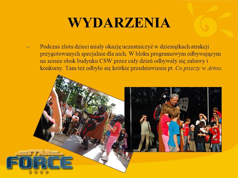 WYDARZENIA –Podczas zlotu dzieci miały okazję uczestniczyć w dziesiątkach atrakcji przygotowanych specjalnie dla nich. W bloku programowym odbywającym