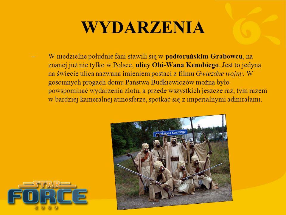WYDARZENIA –W niedzielne południe fani stawili się w podtoruńskim Grabowcu, na znanej już nie tylko w Polsce, ulicy Obi-Wana Kenobiego. Jest to jedyna