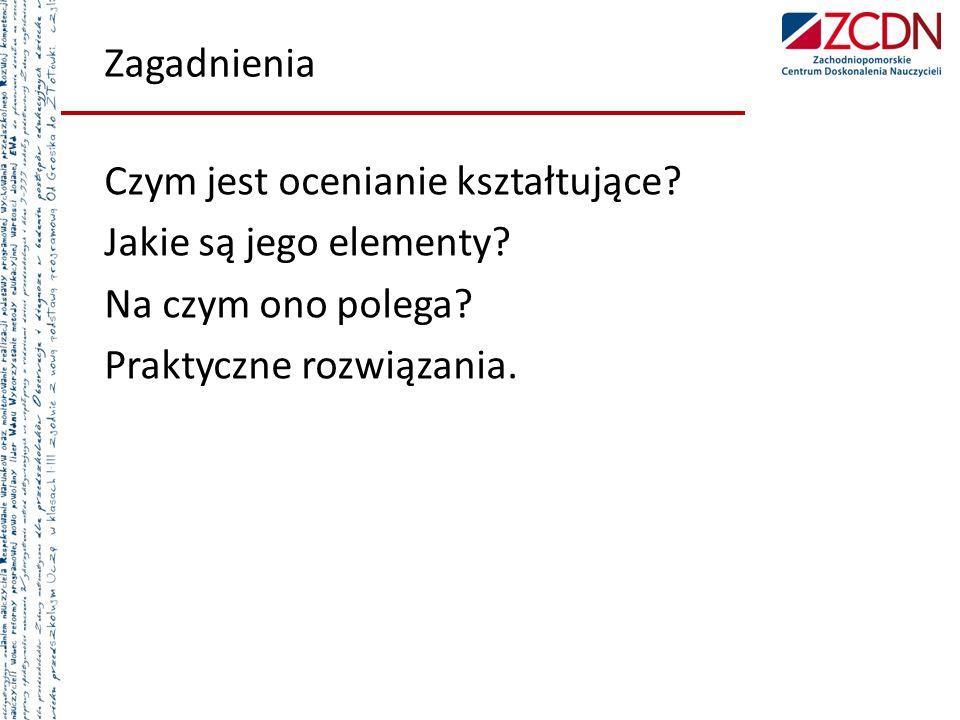 Literatura dostępna w bibliotece pedagogicznej Danuta Sterna, Ocenianie kształtujące w praktyce, Warszawa 2006.