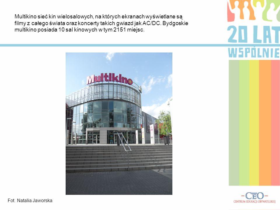 Brda jest bez wątpienia jedną z atrakcji turystycznych Bydgoszczy.