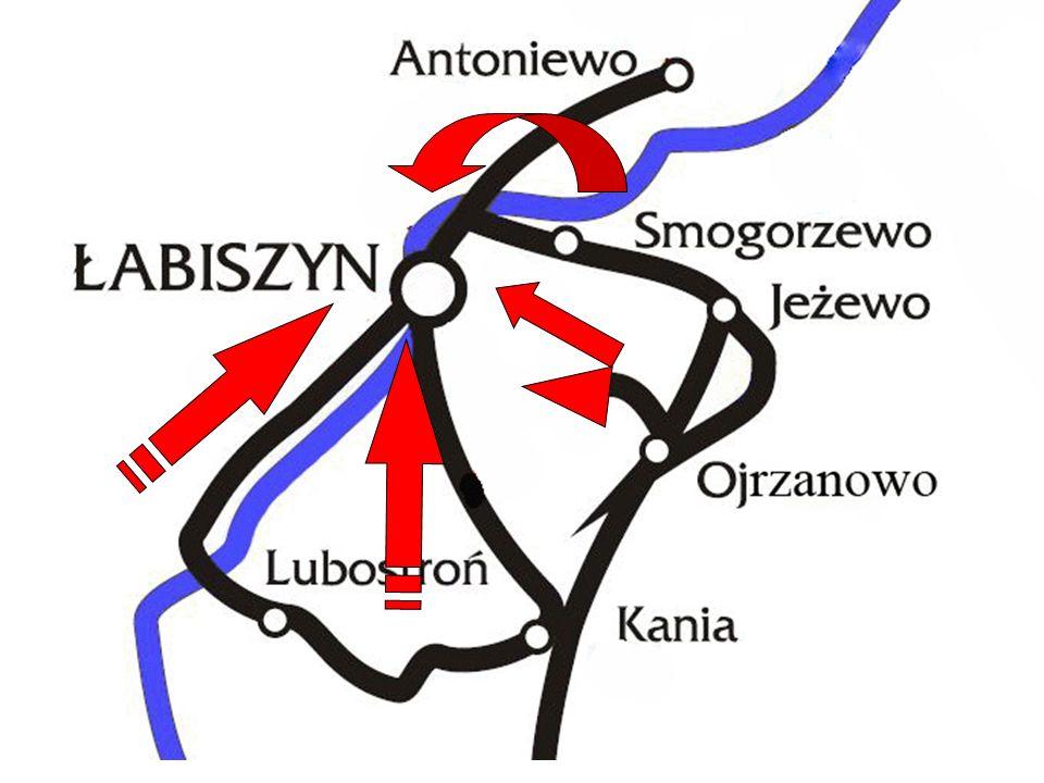 styczeń 1919 – walki na linii Noteci pod Antoniewem i Dębinkiem,