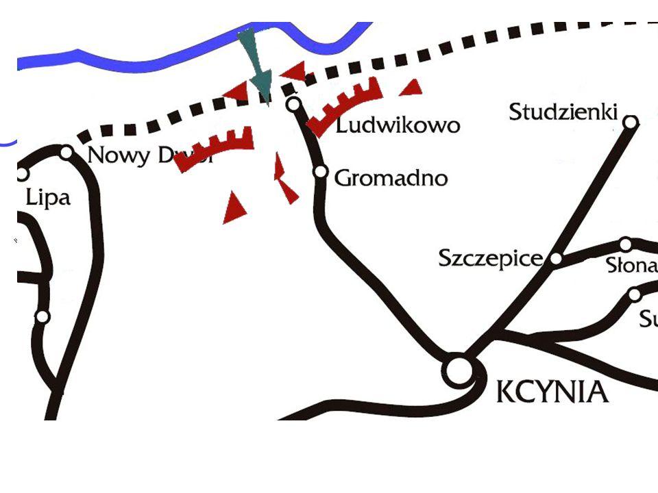 III-V 1919 – udział w walkach na V odcinku frontu północnego (Jaktorowo, Nowy Dwór, Jeleń).