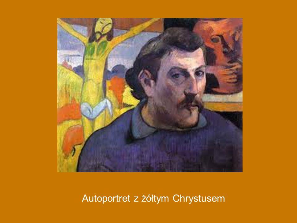 Autoportret z żółtym Chrystusem