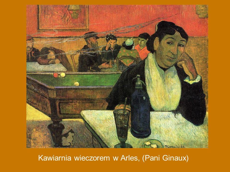 Kawiarnia wieczorem w Arles, (Pani Ginaux)