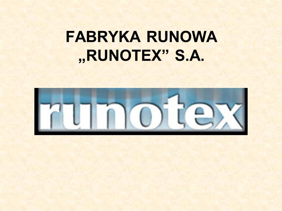 FABRYKA RUNOWA RUNOTEX S.A.