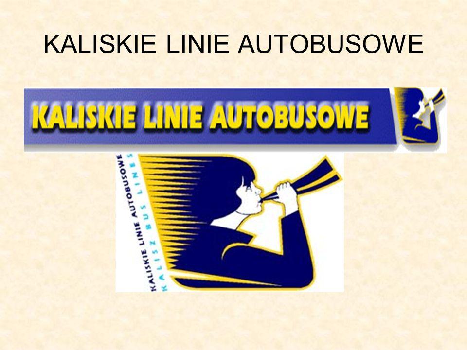 KALISKIE LINIE AUTOBUSOWE