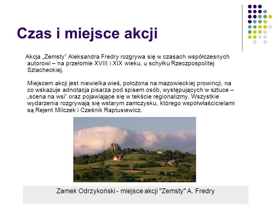 Bohaterowie 1.Maciej Raptusiewicz ( Cześnik) - Jest to stryj Klary, którą wychowuje.