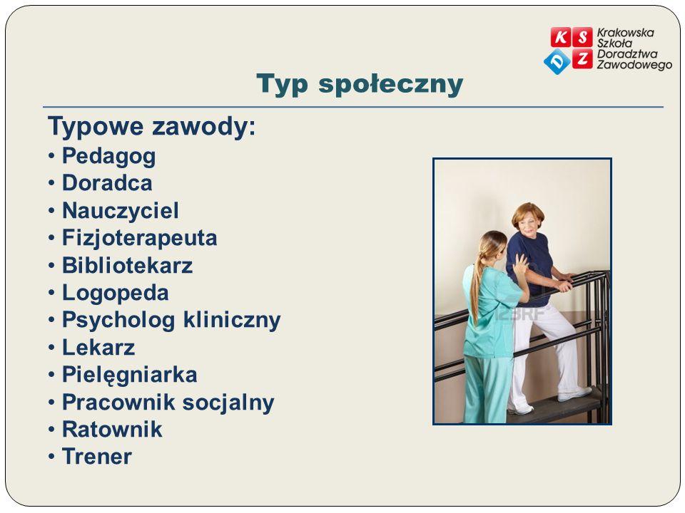 Typy osobowościowe W praktyce każdy posiada cechy przynależące do różnych typów.