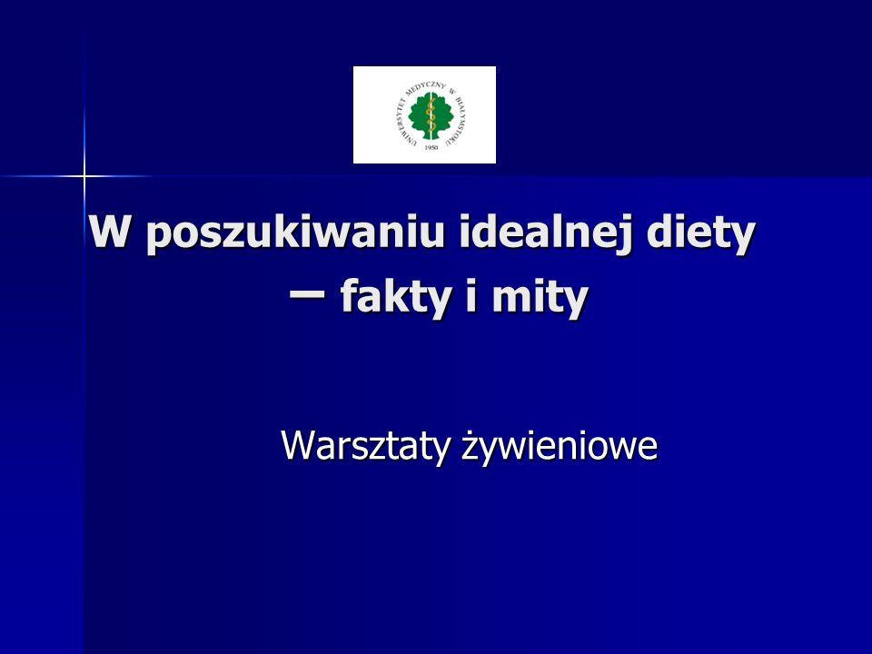 Jak odżywiają się Polacy .