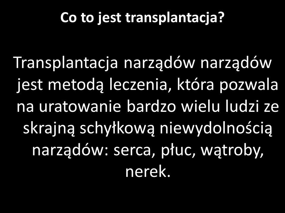 Transplantacje serca i płuc na Śląsku - Bogumiła Król