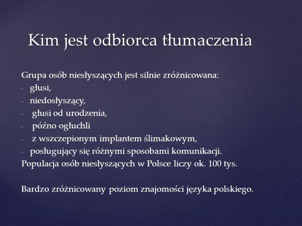 PJM to język, który posiada własne, niezależne od języka polskiego, słownik i gramatykę.