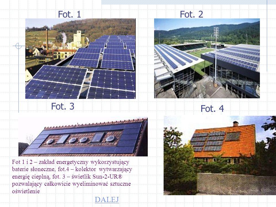 Energia słoneczna Energia słoneczna zdaje się być najbardziej obiecującym rozwiązaniem problemów energetycznych przyszłości. W ogniwach słonecznych, c