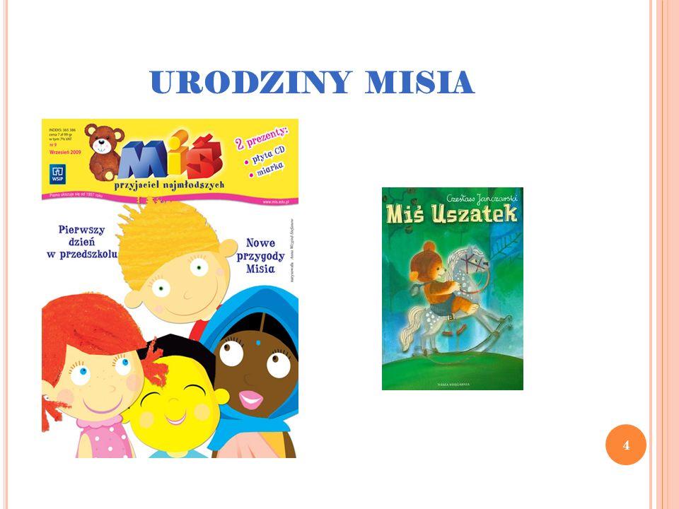 5 Prawdziwa eksplozja jego popularności nastąpiła jednak dopiero w 1975 roku, kiedy to Studio Małych Form Filmowych Se-ma- for w Łodzi, na zlecenie Telewizji Polskiej rozpoczęło produkcję lalkowego serialu z Uszatkiem, któremu głosu użyczył Mieczysław Czechowicz.