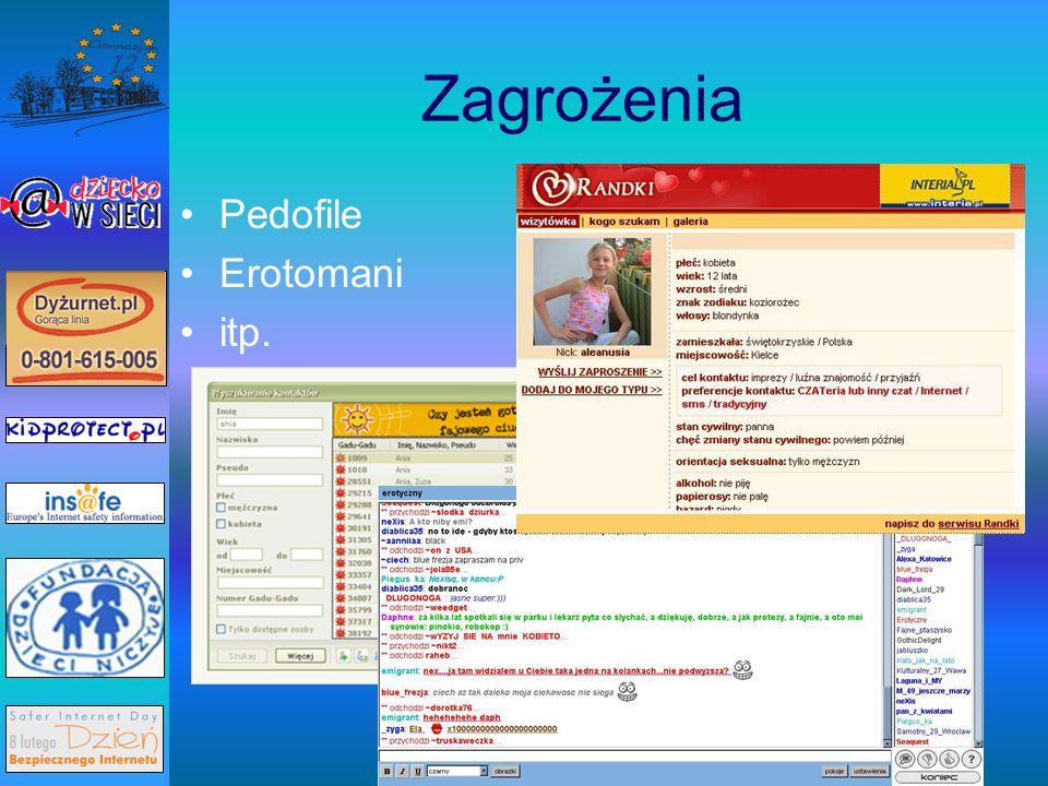 Kilka zasad dla poprawy bezpieczeństwa Zgłaszaj nielegalne i szkodliwe strony na adres: www.dyzurnet.plwww.dyzurnet.pl
