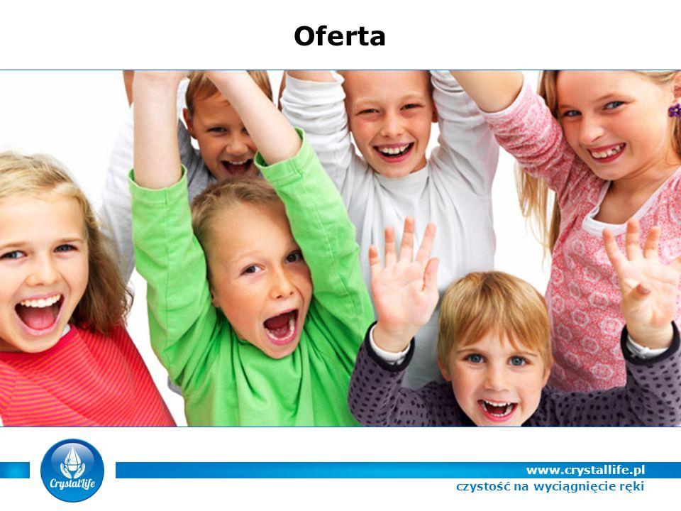 www.crystallife.pl Oferta czystość na wyciągnięcie ręki