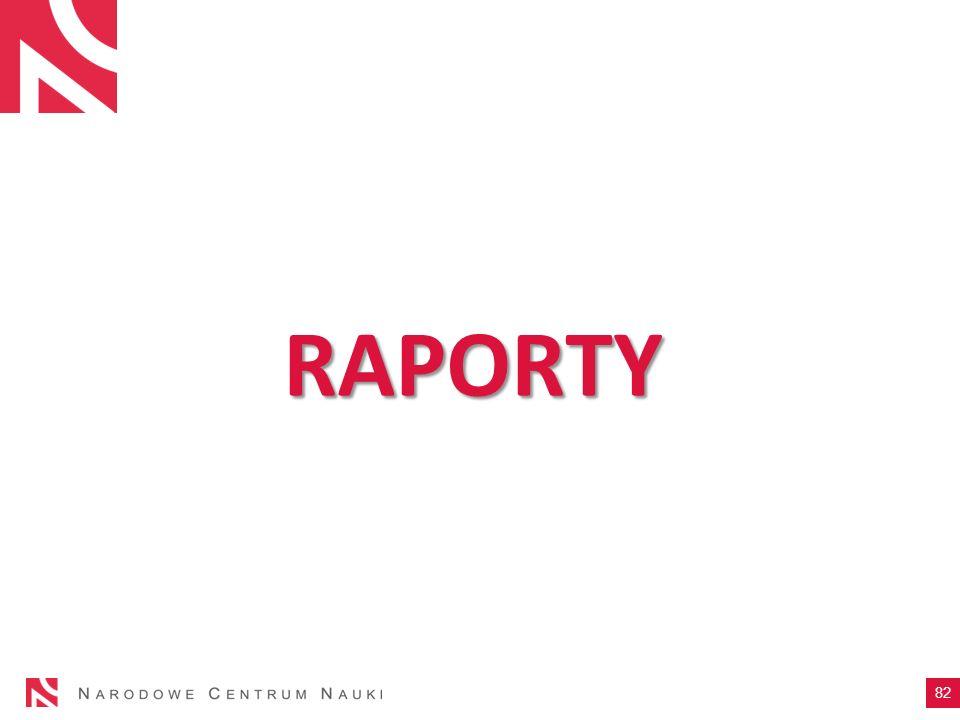 RAPORTY 82
