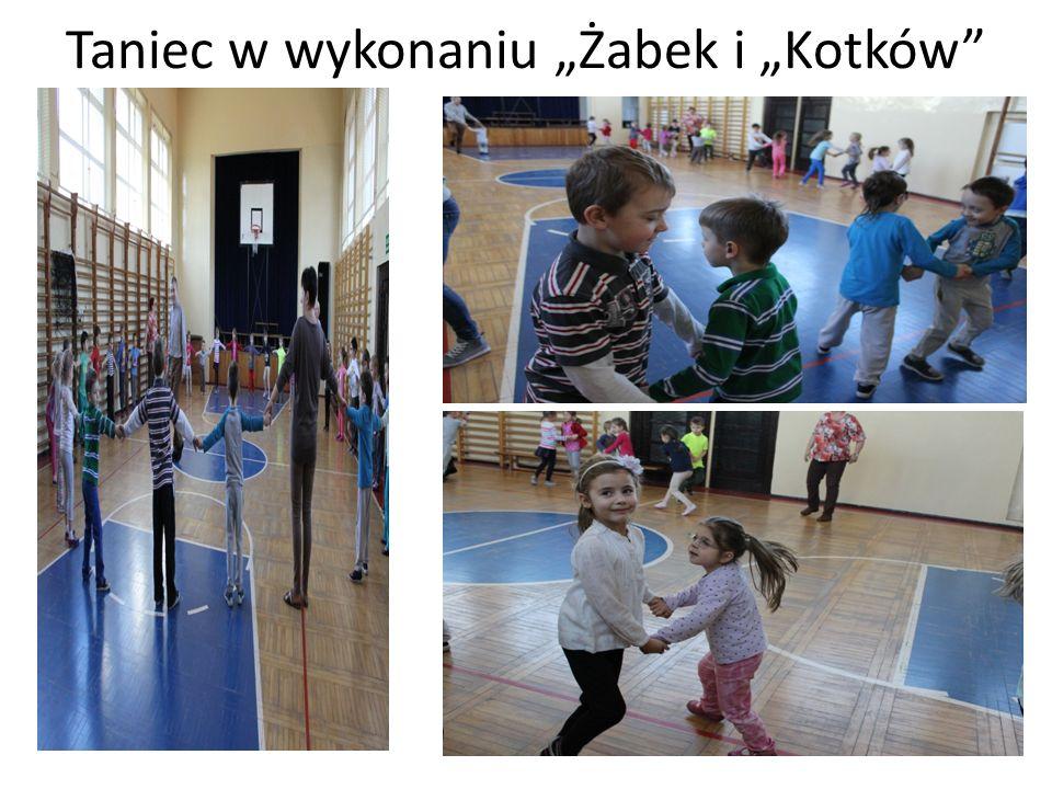 Taniec w wykonaniu Żabek i Kotków