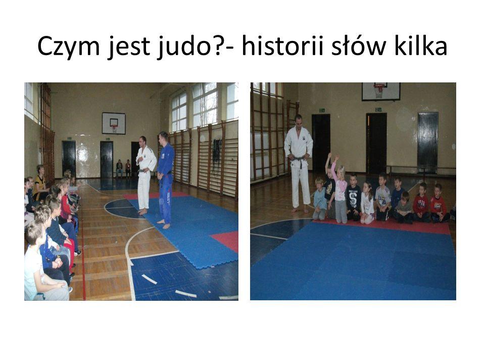 Czym jest judo - historii słów kilka