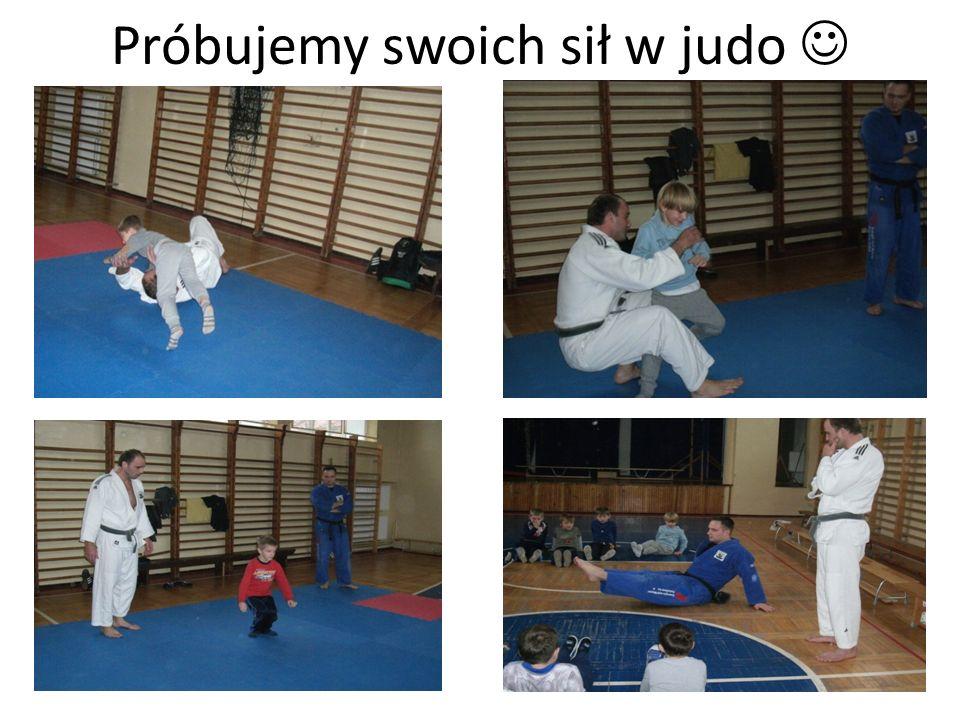 Próbujemy swoich sił w judo