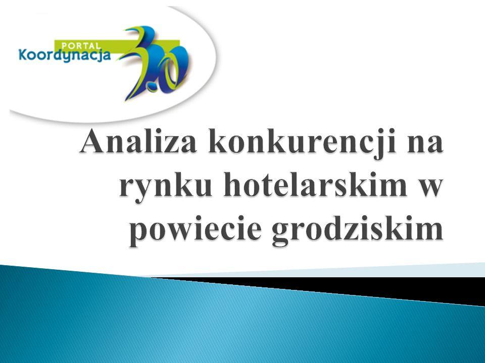 Według Centralnej Ewidencji Obiektów Hotelarskich w powiecie grodziskim istnieje pięć obiektów hotelarskich.