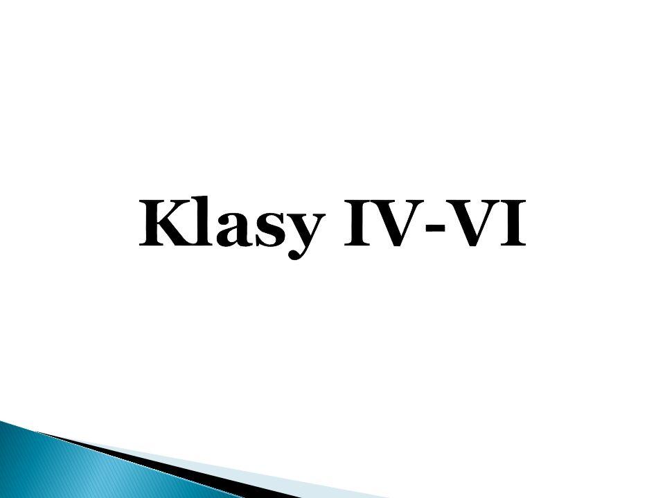 Przedmiot Średnia ocen w klasach Ogółem 2013/2014 IVVVIIV – VI Język polski3,13,5 3,09 3,23 Historia3,64,13 3,27 3,67 Język angielski3,63,38 3,00 3,33 Matematyka2,83,13 2,73 2,89 Przyroda3,13,75 3,64 3,5 Muzyka3,64,5 - 4,05 Plastyka4,94,75 - 4,83 Zajęcia techniczne4,23,75 - 3,98 Zajęcia komputerowe3,54,0 3,73 3,74 Wych.