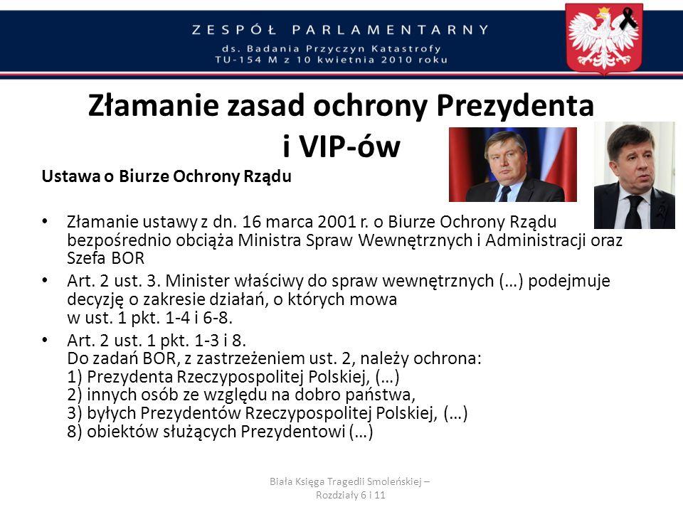Lotnisko w Smoleńsku zabezpieczały rosyjska milicja, Federalna Służba Bezpieczeństwa i Federalna Służba Ochrony. Funkcjonariusz BOR.