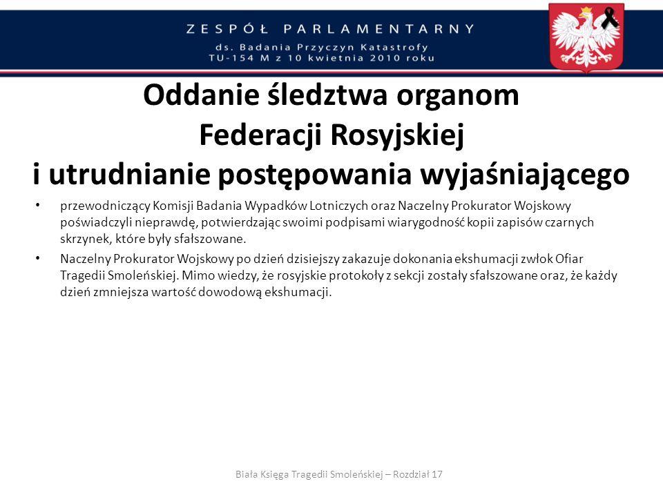 Kopia zapisu czarnej skrzynki przywieziona w czerwcu 2010 roku do Warszawy przez min. J. Millera nie zawierała 17 kluczowych sekund rozmowy w kokpicie