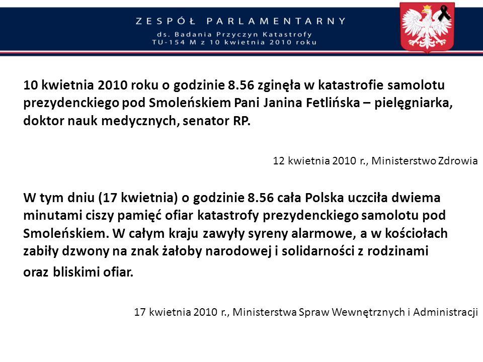 …w związku z katastrofą zaistniałą dnia 10-go kwietnia o godz. 10:40… Protokół z posiedzenia roboczego w Smoleńsku z udziałem m.in. I z-cy Prokuratora