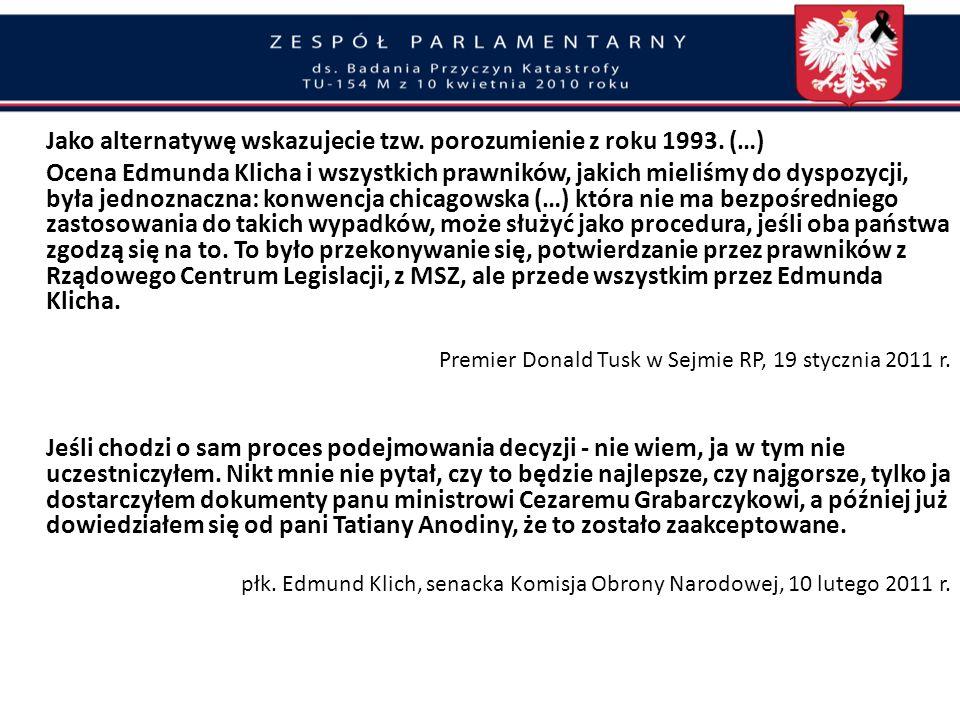 Wprowadzanie w błąd opinii publicznej Rząd D. Tuska utajnił przed opinią publiczna ustalenia narady prokuratorów z 10 kwietnia co do godziny katastrof