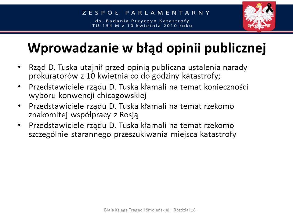 Czy w istocie dla obiektywizmu i przejrzystości tego śledztwa nie jest bezpieczniejszym wariantem maksymalnie dobra współpraca między polskimi i rosyj