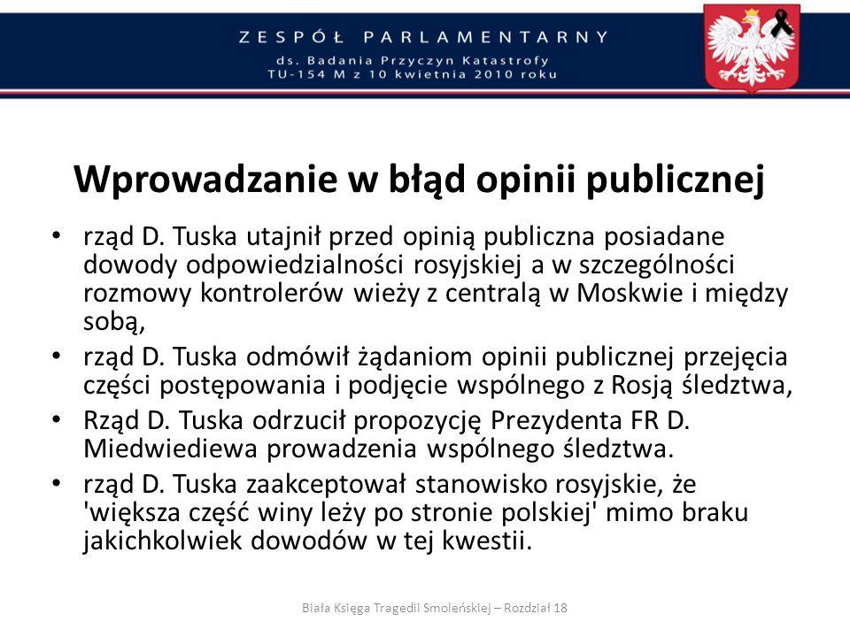 Prezydent Miedwiediew zapewnił, że śledztwo w sprawie przyczyn katastrofy w Smoleńsku będzie prowadzone wspólnie przez prokuratorów polskich i rosyjsk