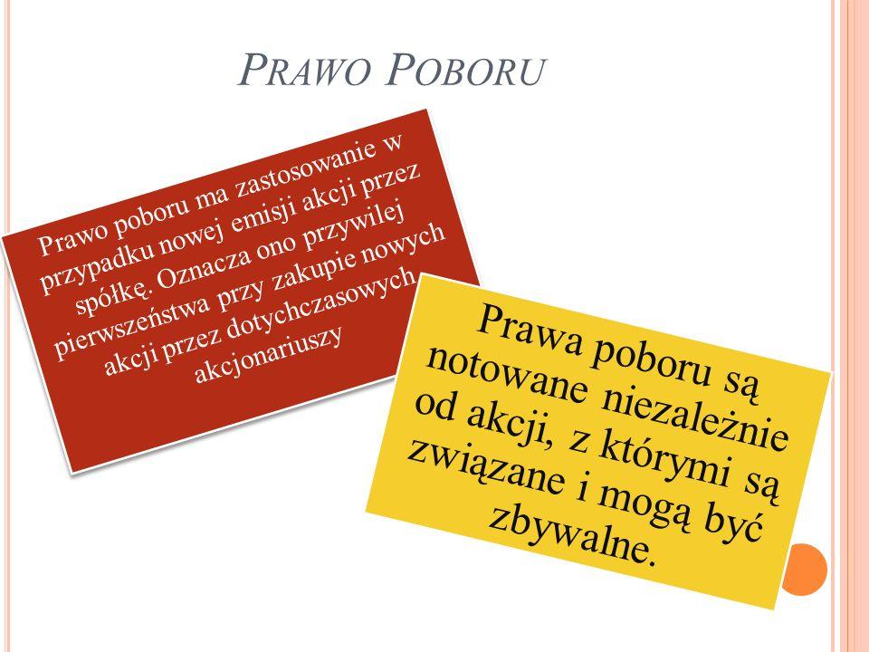 P RZYKŁAD : NOTOWANIE JEDNEJ Z DWÓCH SERII PRAW PIERWSZEŃSTWA SPÓŁKI N ETIA (NETPPO2).