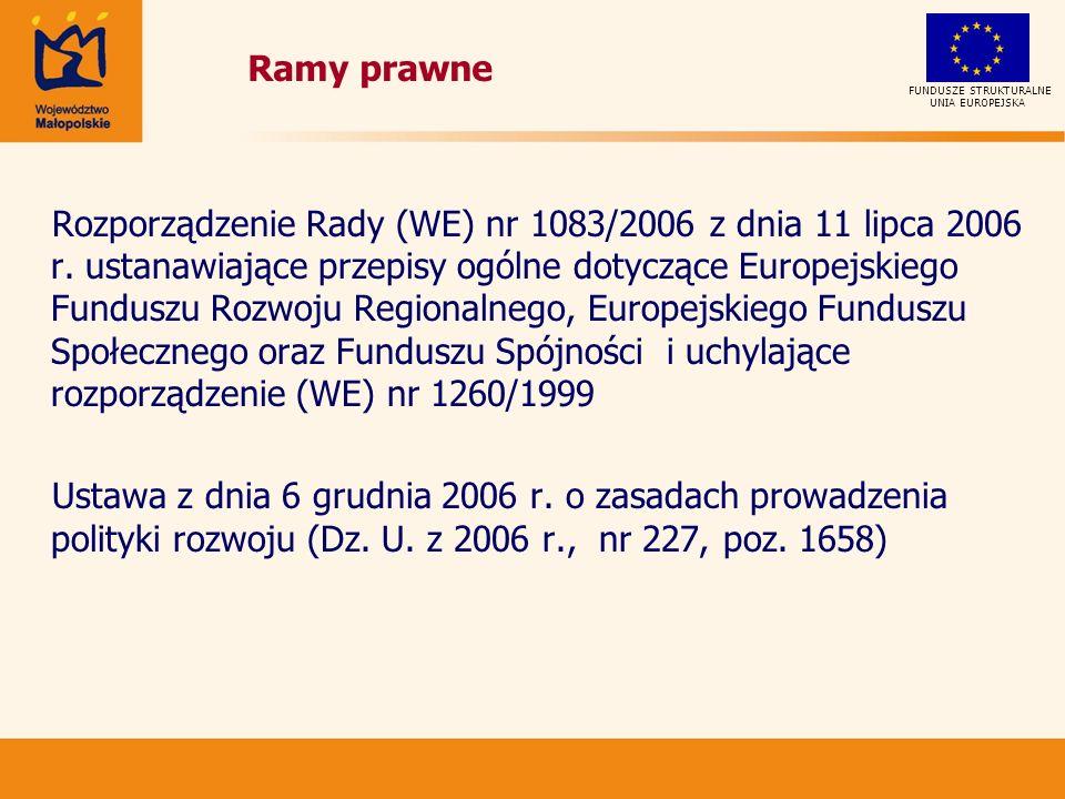 Rozporządzenie Rady (WE) nr 1083/2006 z dnia 11 lipca 2006 r.