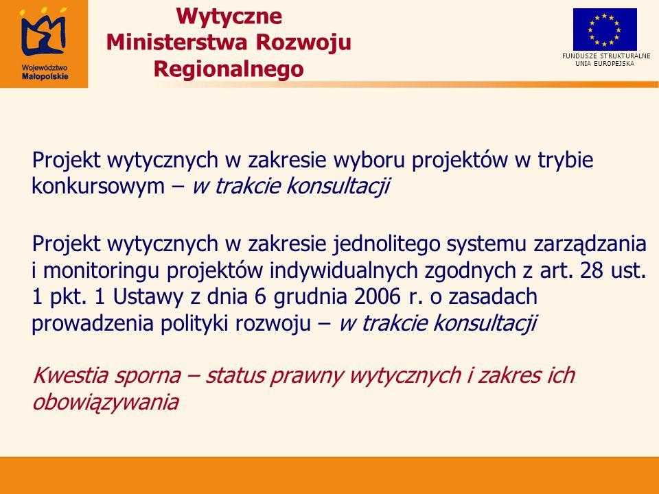 Elementy oceny w ramach preselekcji UNIA EUROPEJSKA FUNDUSZE STRUKTURALNE Część I 1.