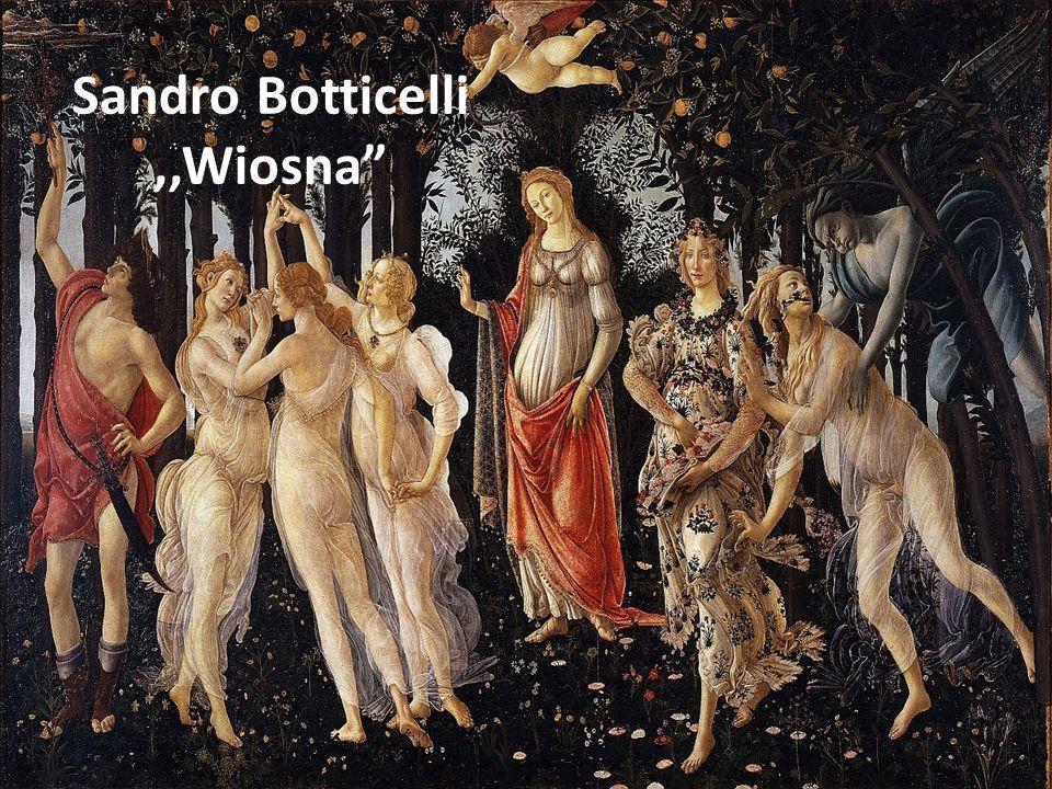 Sandro Botticelli,,Wiosna