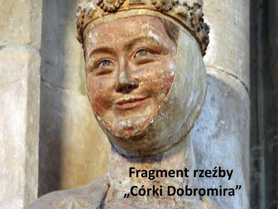 Fragment rzeźby Córki Dobromira