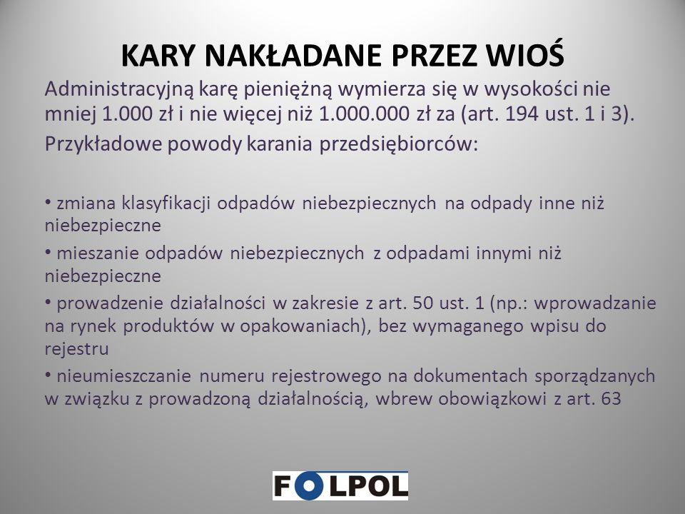 OBOWIĄZKI PRZEDSIĘBIORCÓW cz.5 ODZYSIK I RECYKLING ODPADÓW Składanie Marszałkowi Województwa rocznego sprawozdania o wysokości należnej opłaty produkt