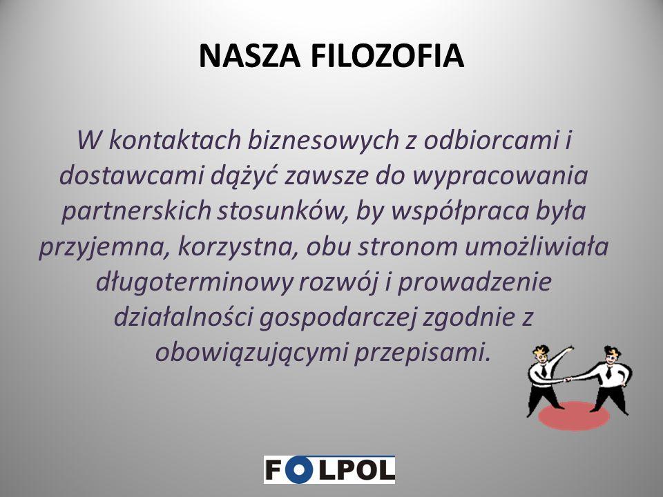 FOLPOL – oferta cz.2 Dokumenty DPO oraz DPR będą wystawiane po zakończeniu każdego kwartału przez firmy posiadające zezwolenia na przetwarzanie odpadó