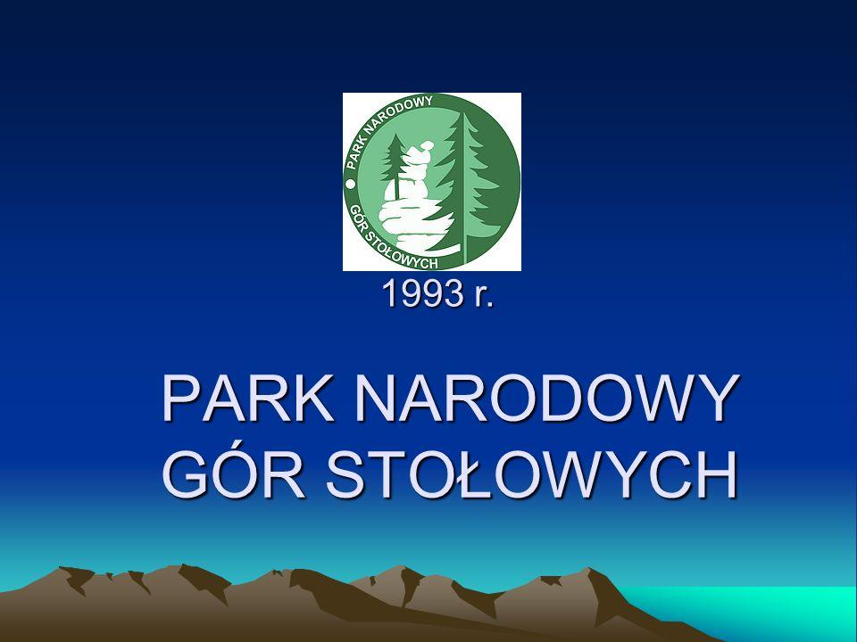 PARK NARODOWY GÓR STOŁOWYCH 1993 r. 1993 r.