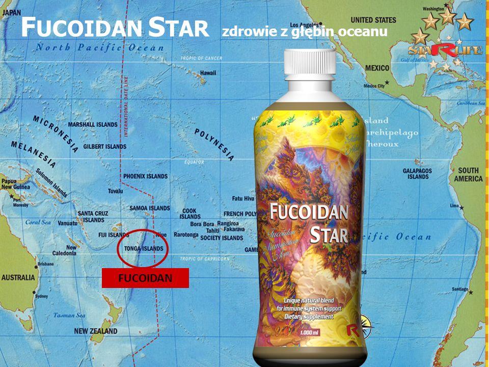 FUCOIDAN F UCOIDAN S TAR zdrowie z głębin oceanu