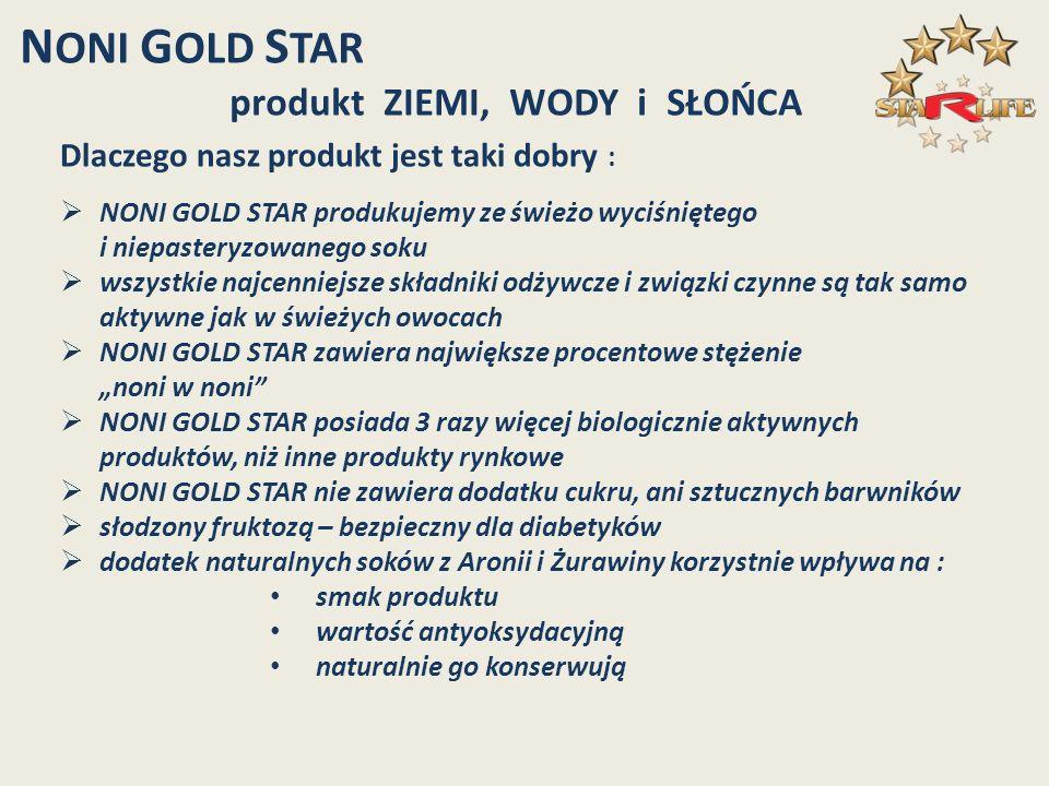 Dlaczego nasz produkt jest taki dobry : NONI GOLD STAR produkujemy ze świeżo wyciśniętego i niepasteryzowanego soku wszystkie najcenniejsze składniki