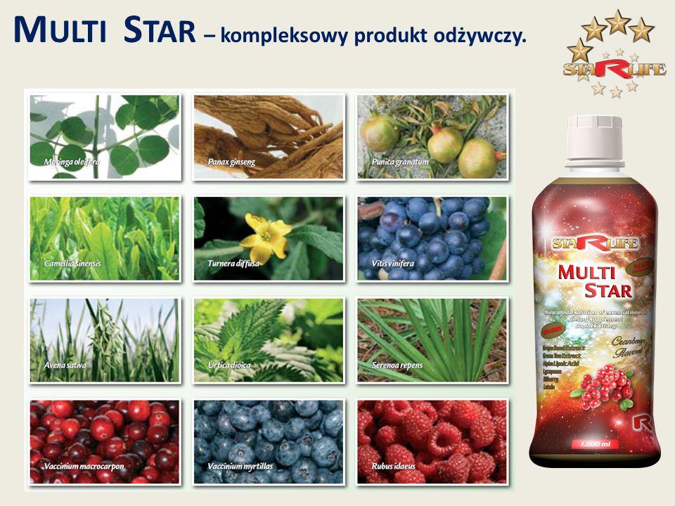 M ULTI S TAR – kompleksowy produkt odżywczy.