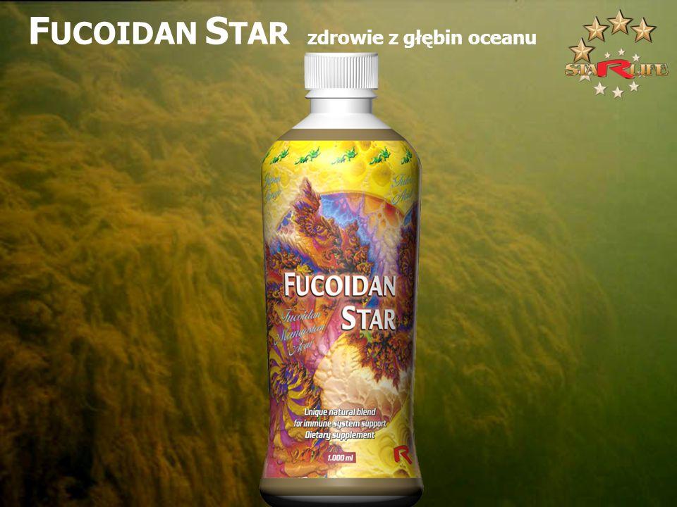 F UCOIDAN S TAR zdrowie z głębin oceanu
