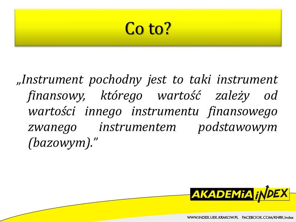 OXYZkrccc O – rodzaj instrumentu, XYZ – kod określający nazwę instrumentu bazowego k – kod określający typ i miesiąc wygaśnięcia opcji r – ostatnia cyfra roku wygaśnięcia, ccc – oznaczenie kursu wykonania.