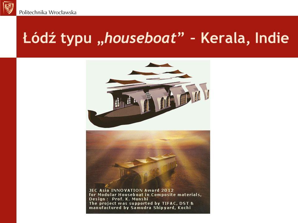 Łódź typu houseboat – Kerala, Indie