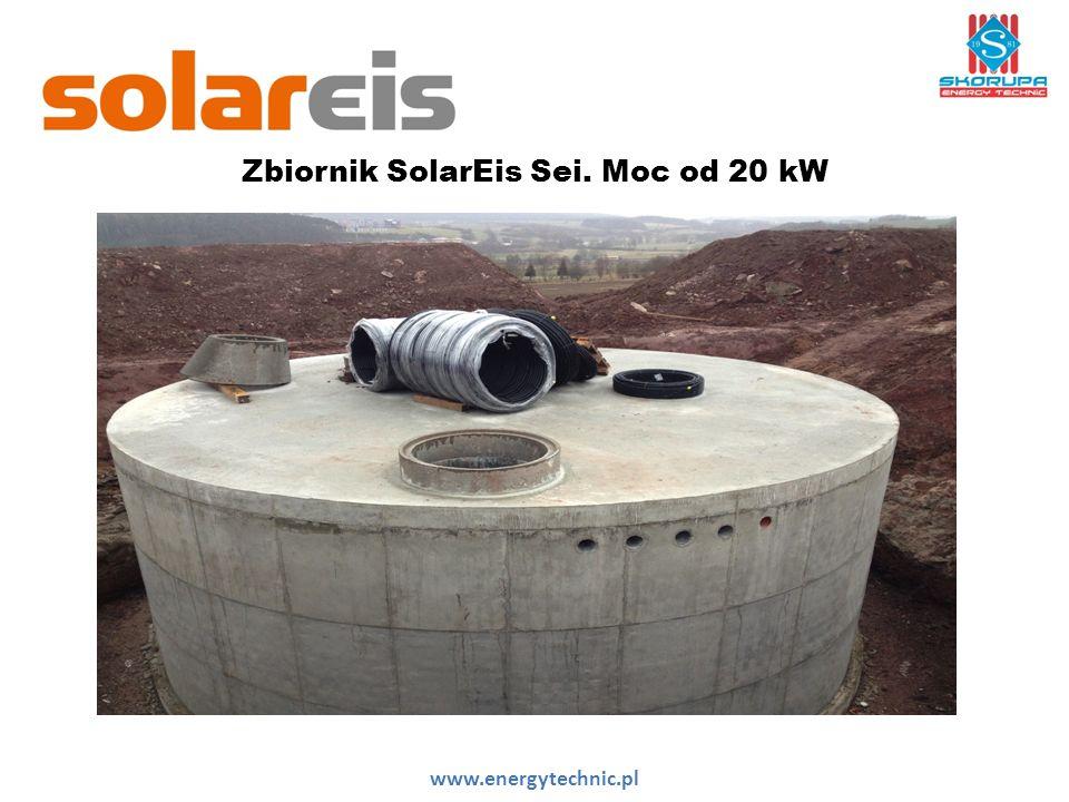 Zbiornik SolarEis Sei. Moc od 20 kW www.energytechnic.pl