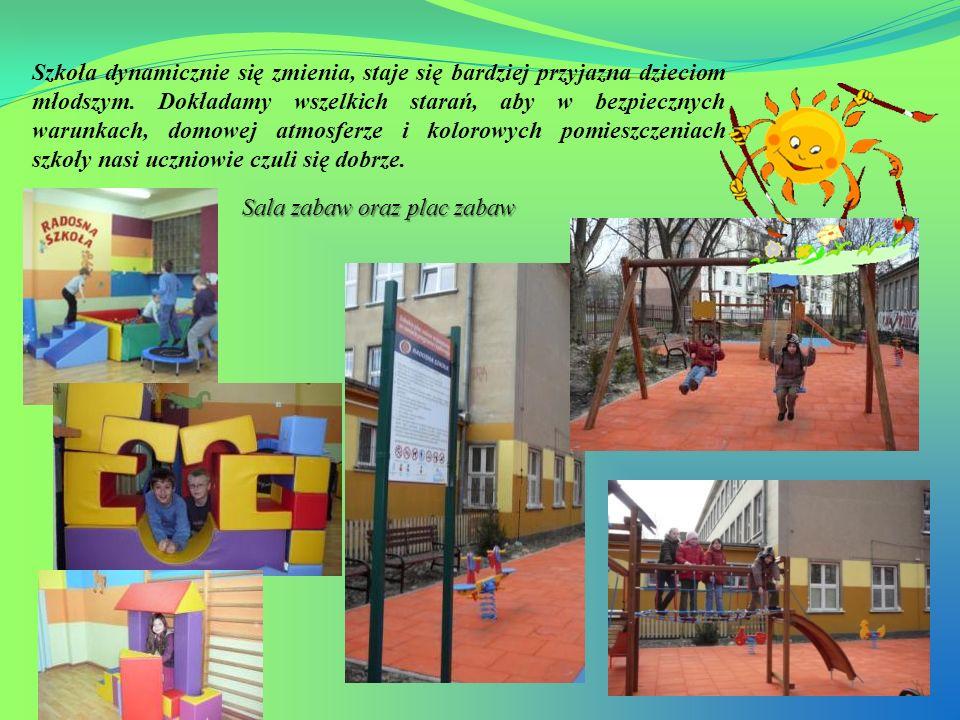Szkoła dynamicznie się zmienia, staje się bardziej przyjazna dzieciom młodszym. Dokładamy wszelkich starań, aby w bezpiecznych warunkach, domowej atmo