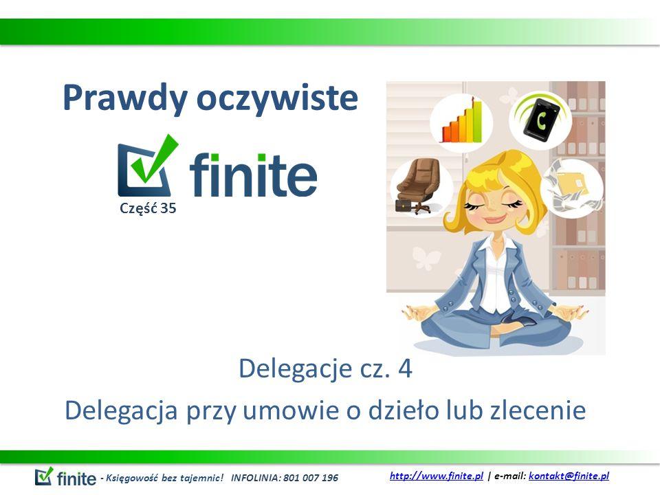 Prawdy oczywiste Delegacje cz.